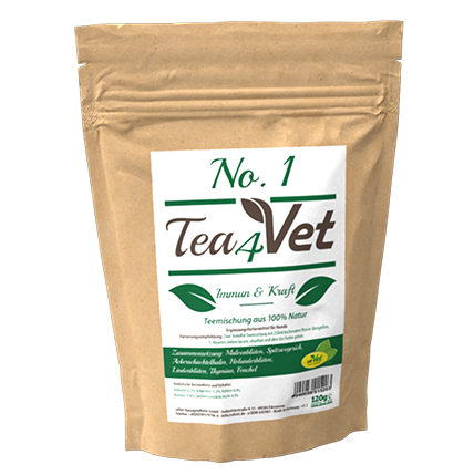 Tea4Vet No 1 Immun & Kraft 120 g